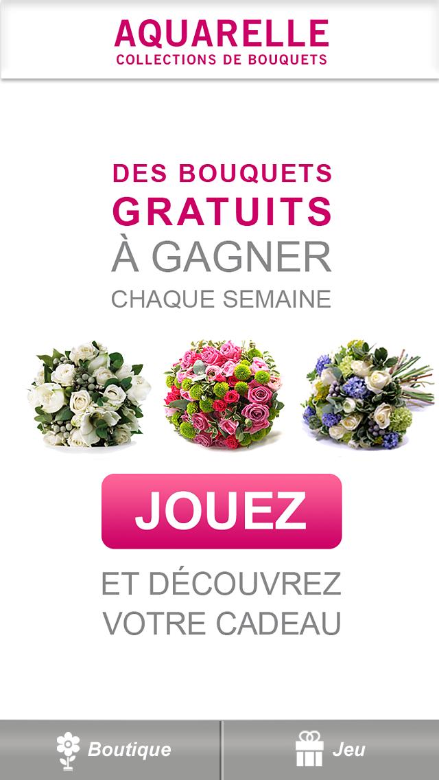 Livraison de fleurs Aquarelle screenshot one