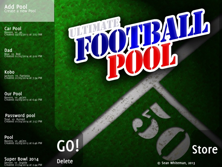 Ultimate Football Pool