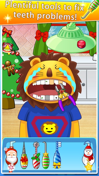 Lovely Dentist for Christmas - Kids Doctor