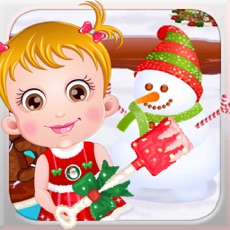 Activities of Baby Make Snowman for Kids
