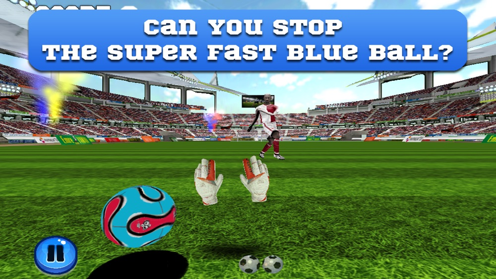 Flick Goalkeeper - Can you stop the soccer ball of a football striker's perfect kick? hack tool