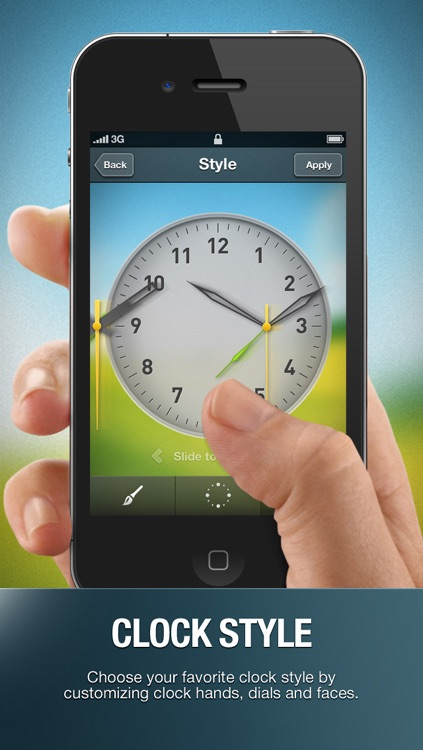 Alarm Clock Wake Up Time with musical sleep timer & local weather info screenshot-3