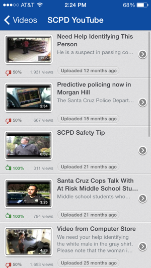 Santa Cruz Police on the App Store