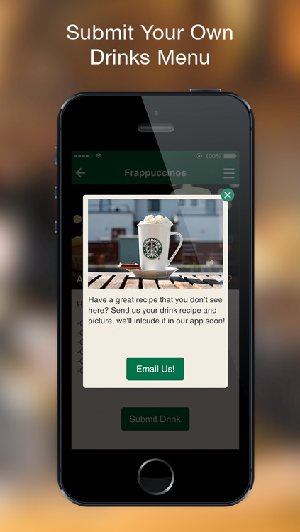 Secret Menu for Starbucks PLUS + screenshot-2