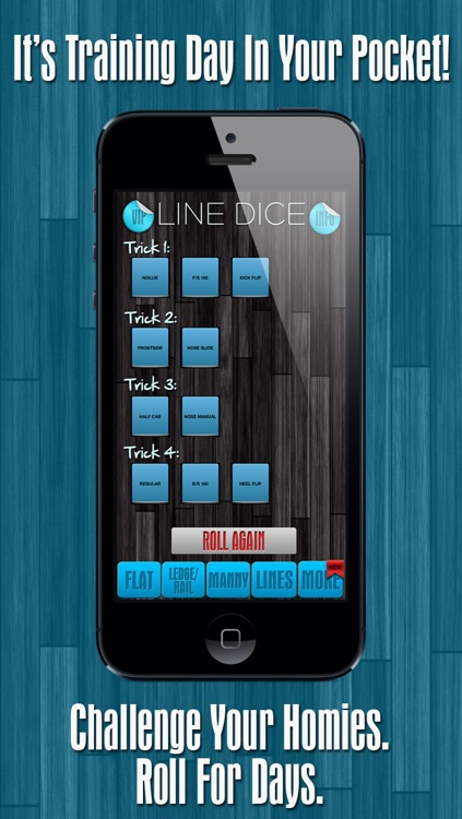 Line Dice Pro - Skate Flat, Ledges Or Mannies With Lines screenshot-4