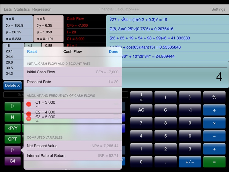 Financial Calculator+++ screenshot-3