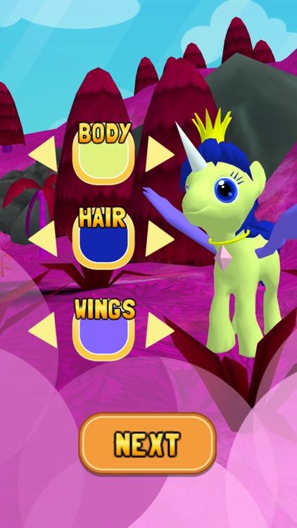 My Little Unicorn Dash 3D HD