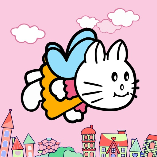 Flying Kitty's Fly Adventure - Fly with Adventurous Tiny & Cute Kitty