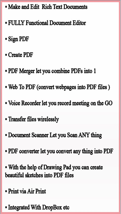 Write & Edit PDF - annotate PDF , PDF Writer , PDF Merger, Scan to PDF for you iPhone and iPad