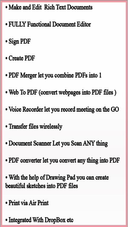 Write & Edit PDF - annotate PDF , PDF Writer , PDF Merger, Scan to PDF for you iPhone and iPad