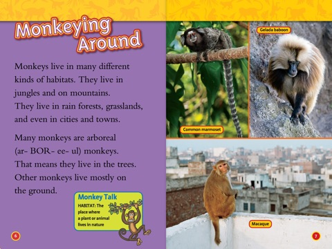 national geographic readers monkeys