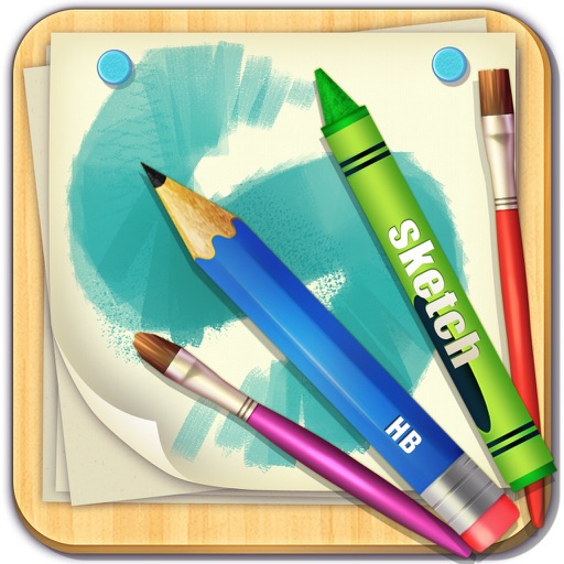Drawing Board Lite - for paint, sketch, doodle and filter