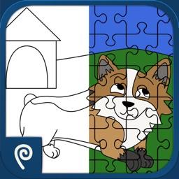 Color It Puzzle It: Pets Lite