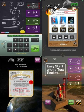 Screenshot #4 for MATH IGNITION™ Launch, LM Dock & TLI [iPad edition]