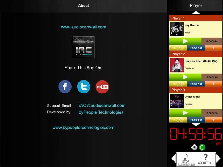 Instant Audio Studio Cartwall Pro For iPad screenshot-4