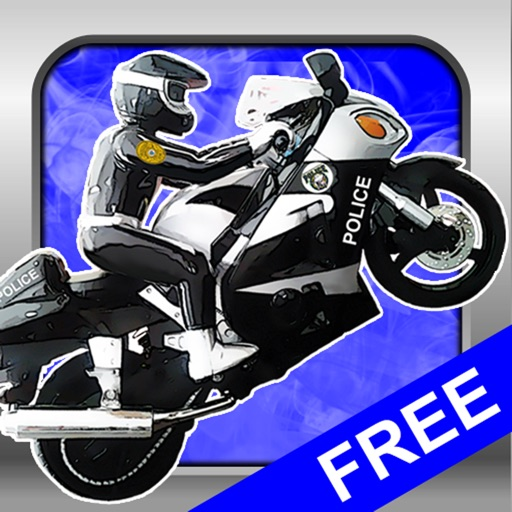 Motorcycle Police Chase Race Track Game Free
