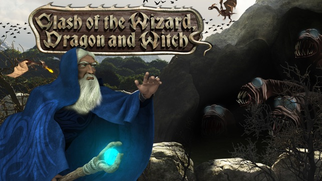 clash of the wizard dragon and witch on the app store