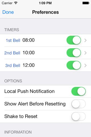 Palmtop Bell 2 screenshot 2