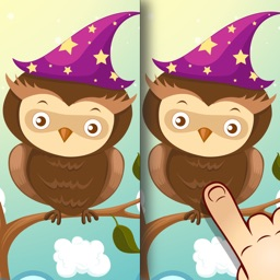 Animal Spot the Difference for Kids and Toddlers - Brain Training and Learning Game