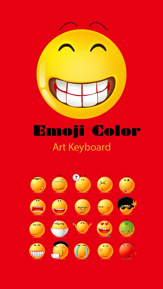 download Emoji Color - Cool Emojis, Emoticon Smileys Art Symbols Text Keyboard apps 2