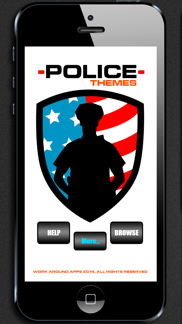 Police Themes! Backgrounds, Wallpaper, & Lock Screens   App Price Drops