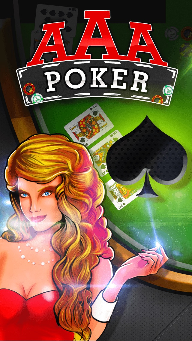 AAA Poker – Play The Best Deluxe Casino Card Game Live With Friends (VIP Joker Poker Series & More!) for iPhone & iPod touch PLUS HD FREE Screenshot on iOS