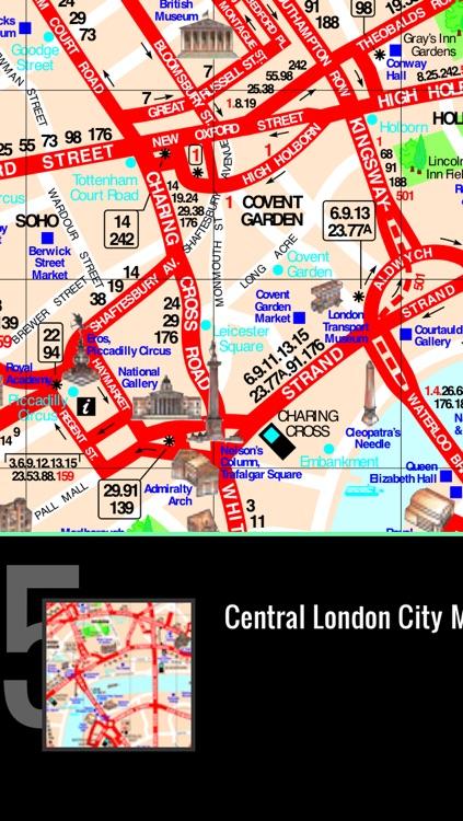 London Map offline - Ultimate Pocket London Travel Guide with UK, England London tube map, London Metro Map, London Bus Routes Map, London Maps, London Street maps screenshot-3
