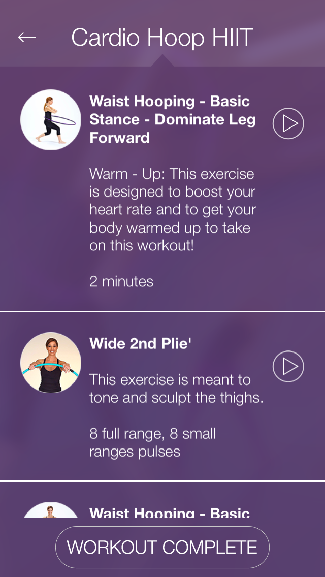 FXP Hula Hoop: Workout and Fitness Plan for Toning and Shaping Your Body screenshot three