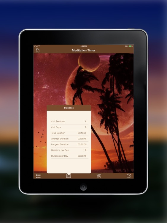 Meditation Timer Pro for iPad screenshot-4