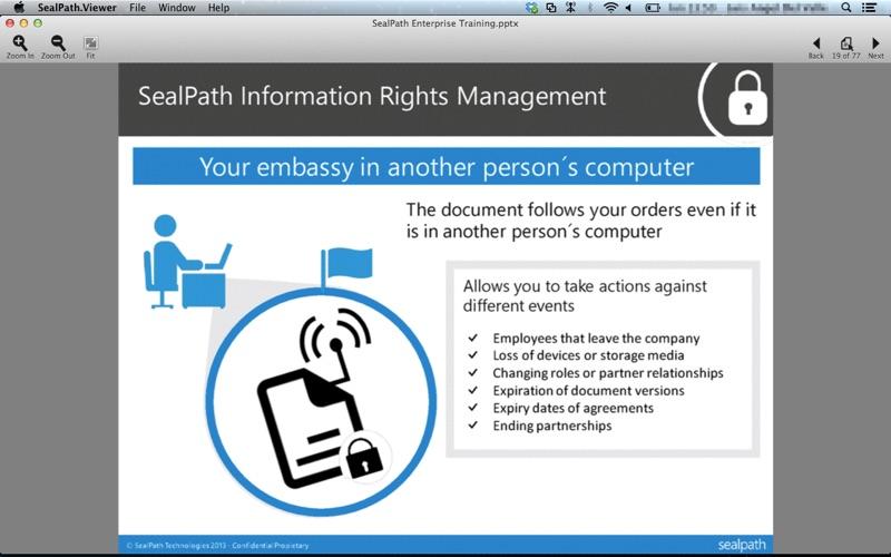 SealPath Document Viewer for Mac