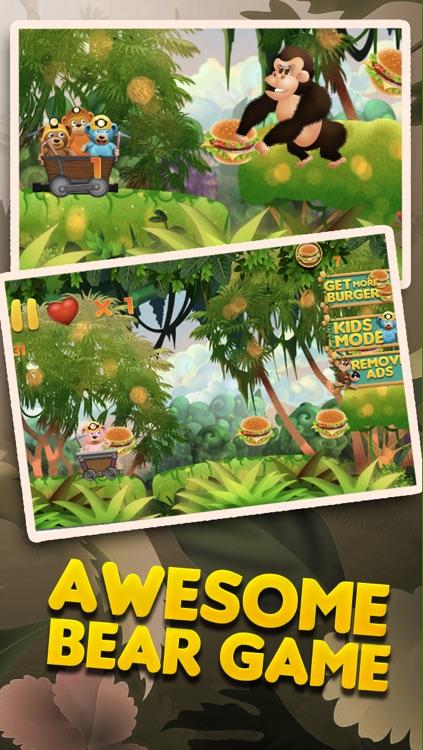 Burger-Crazy Bears Battle of the Super Evil Cookie Monkey PRO