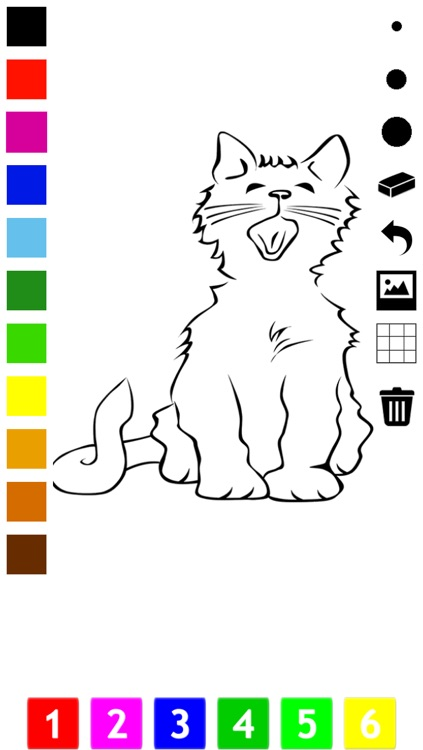 Cat Coloring Book For Little Children Learn To Draw And Color Cats Kittens