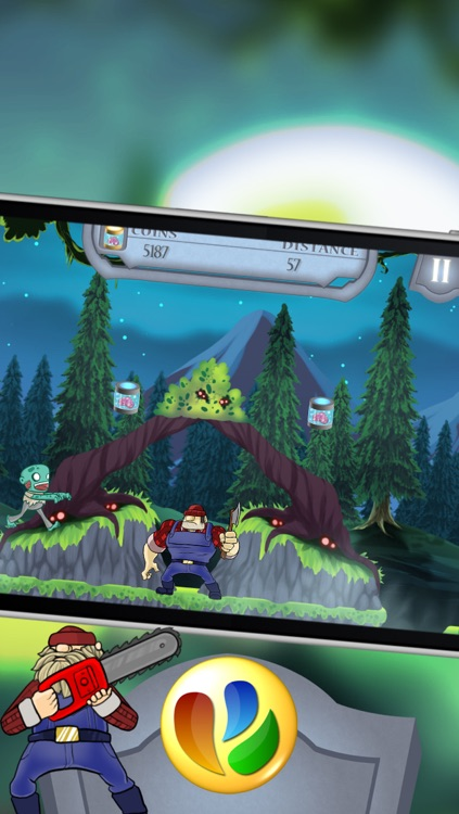 Action Zombies – A Fun Zombie Jump and Run Game screenshot-3