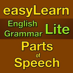 easyLearn English Grammar - Parts of Speech Lite