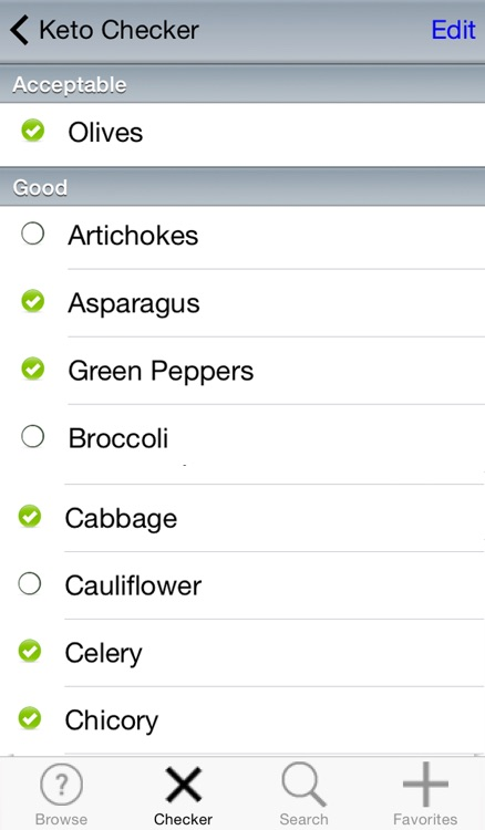 LCHF Diet Food Checker screenshot-3