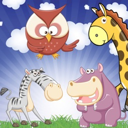 Zoo Games for Toddlers and Kids : discover animals and their sounds !