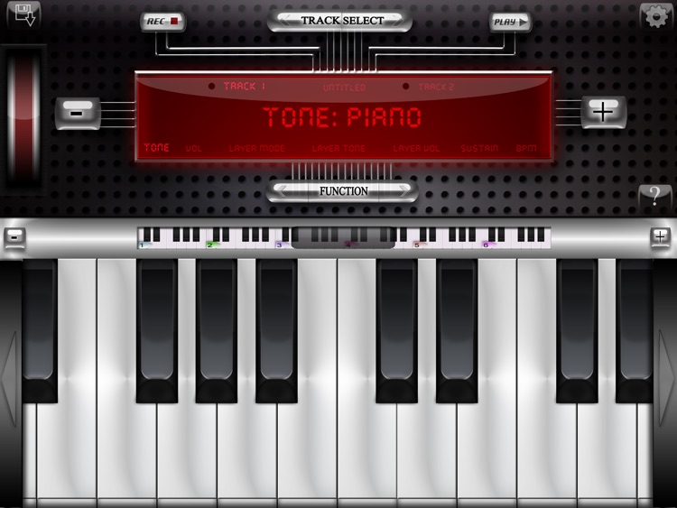 Composer's Piano - Think in music!
