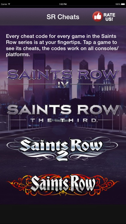 The Unofficial guide and cheats for all Saints Row Games Free