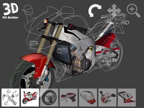 3D Kit Builder (Motorbike)のおすすめ画像1