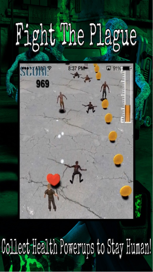 Trigger Shooter Battle Nations vs. Zombies - Dead Hunter World War 2 on Zombie Highway Road HD Lite-3