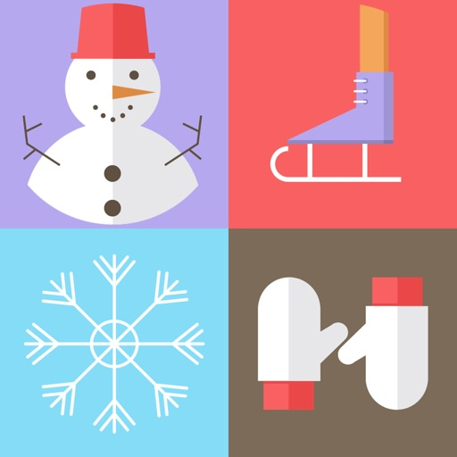 A Winter Match Game: Holiday Wonderland Edition