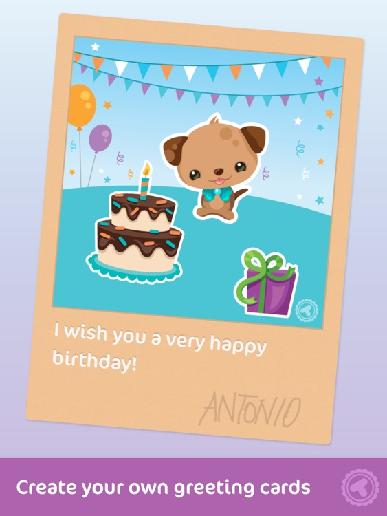 Toonia Cardcreator - Create, Print & Send Personalized Greeting Cards screenshot-0