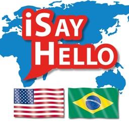 iSayHello English - Portuguese (Brazilian)