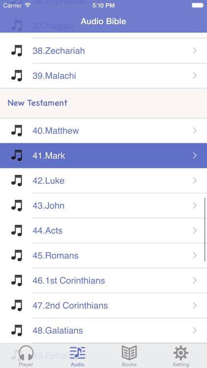 NASB Bible (Audio & Book)