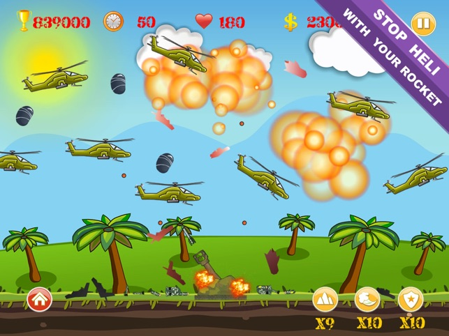 HeliInvasion HD Screenshot