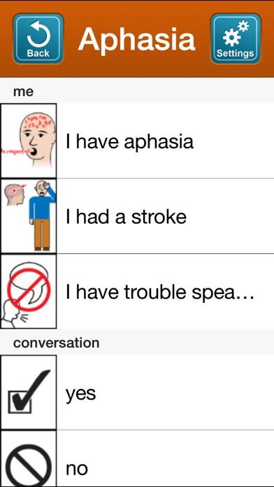 SmallTalk Aphasia - Female iPhone