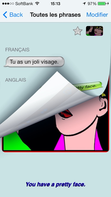 Anglais - French to English Talking Phrase Book and Translator