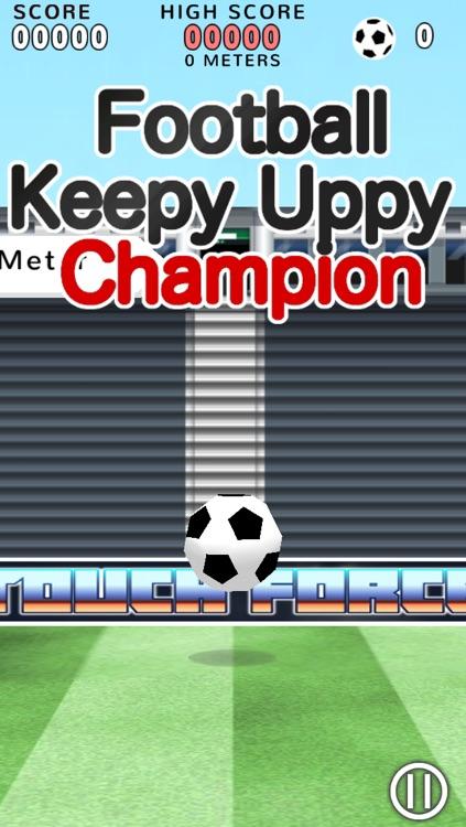 Football Keepy Uppy Champion