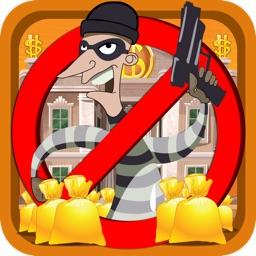 Bank Robber Jump Gold Mania - Steal Money Bag Run Free