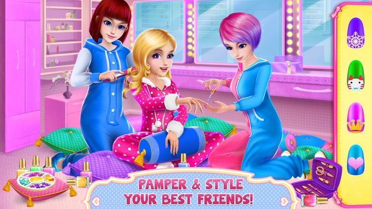 Girls PJ Party - Dress Up, Spa & Fun